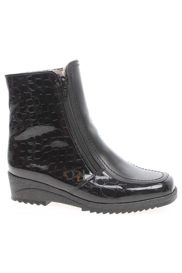 Černé dámské zimní boty Ara - velikost 40 EU