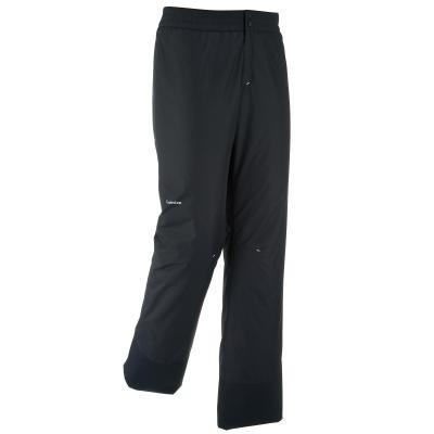 Černé pánské lyžařské kalhoty Wed'ze
