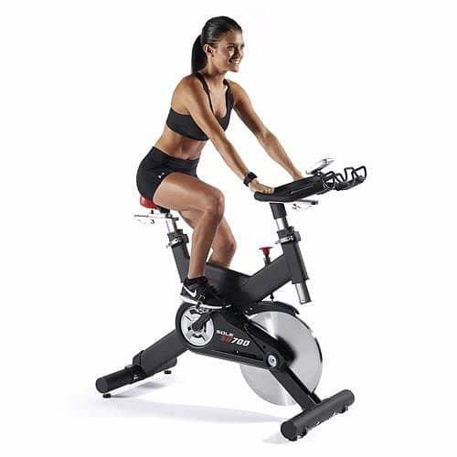 Mechanický cyklotrenažér SB700, Sole Fitness - nosnost 150 kg