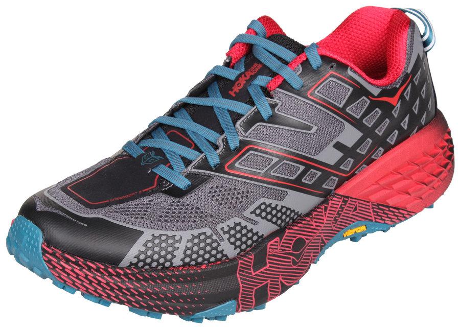 f9f7134a6cd Černo-červené pánské běžecké boty - obuv Hoka One One - velikost 42 2 3 EU  ...