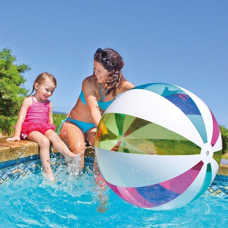 Plážový míč - INTEX - plážový míč Giant 107 cm, 59066