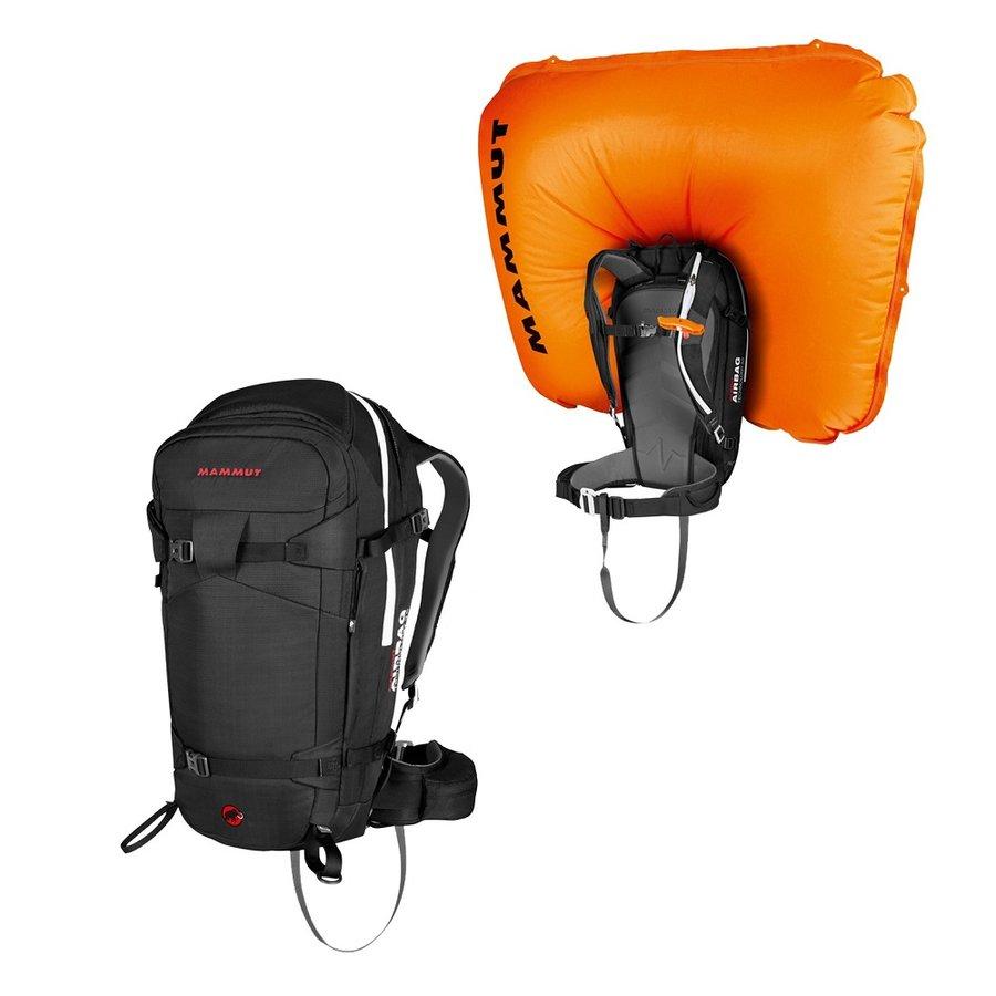 Černý lavinový skialpový batoh Mammut - objem 45 l