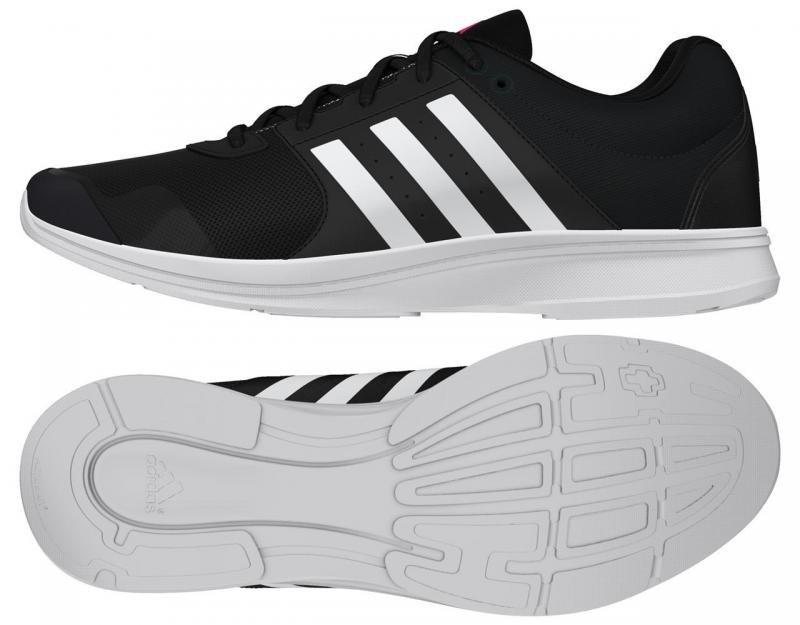 Černé dámské fitness boty Adidas - velikost 37 EU