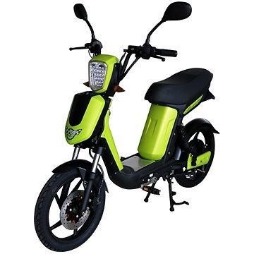 Zelený elektromotocykl E-Babeta, Racceway