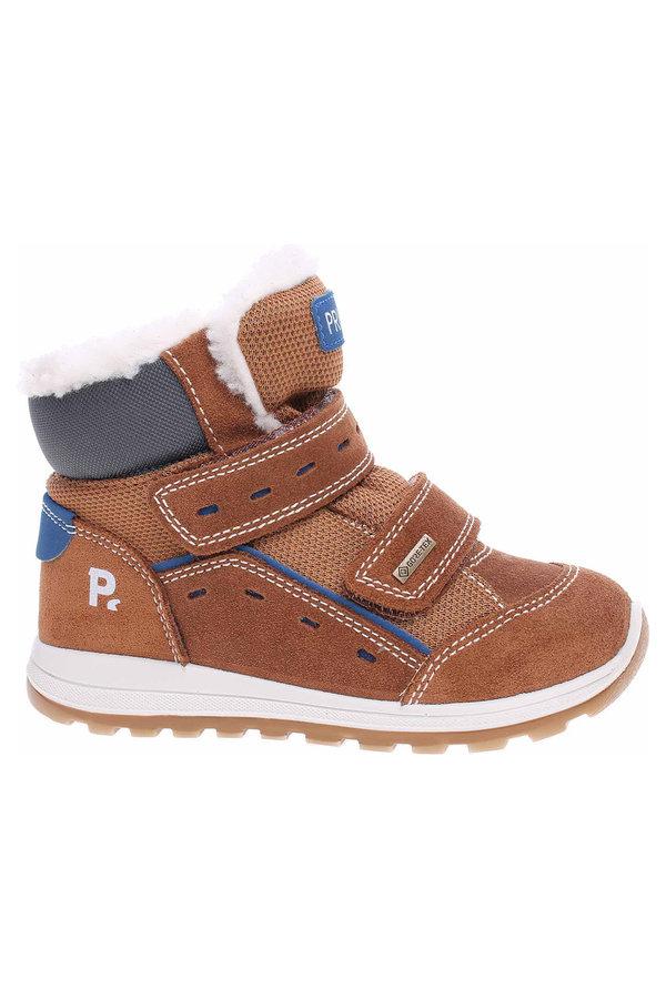 Hnědé chlapecké kotníkové boty Primigi - velikost 25 EU
