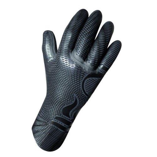 Černé neoprenové rukavice Fourth Element