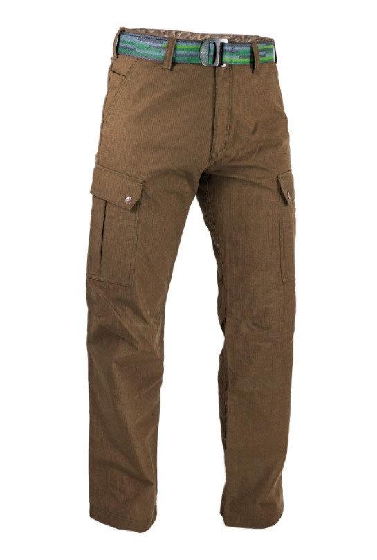 Hnědé pánské kalhoty Warmpeace - velikost S