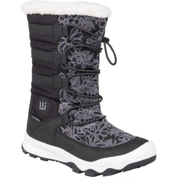 Černé chlapecké zimní boty Willard