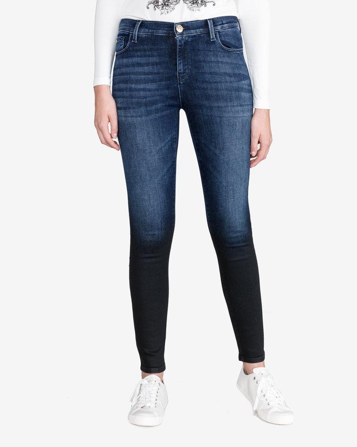 Modré dámské džíny Twinset - velikost 28