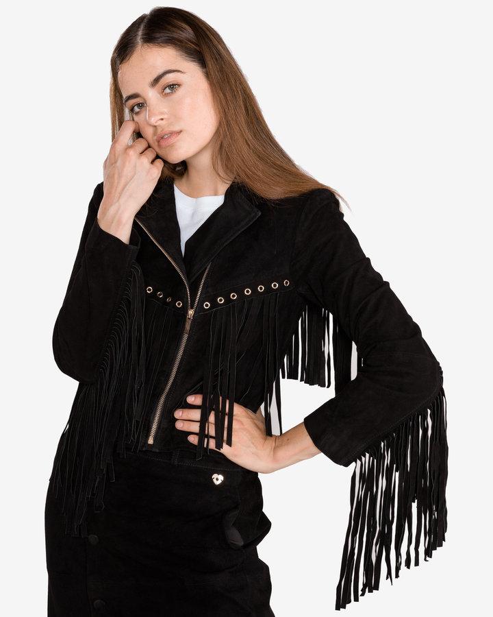Černá dámská bunda Twinset - velikost S