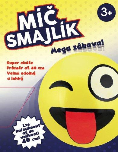 Míč - MAC TOYS - Míč Smajlík