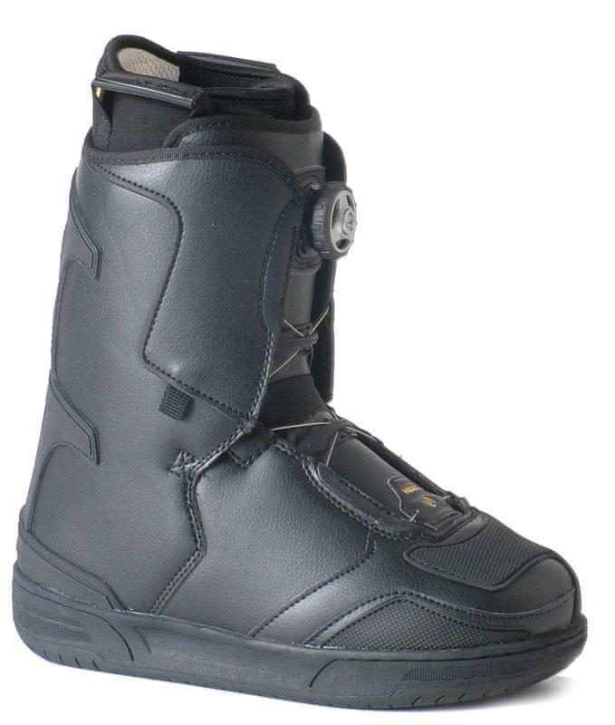 Černé pánské boty na snowboard Head - velikost 49,5 EU