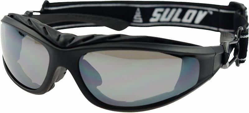 Černé lyžařské brýle Sulov