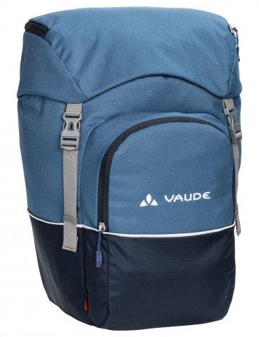 Modrá brašna na kolo na zadní nosič Road Master, VAUDE - objem 36 l