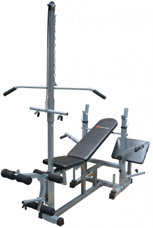 Posilovací lavice - Posilovací lavice na bench press ACR lavice s kladkou WB 3500