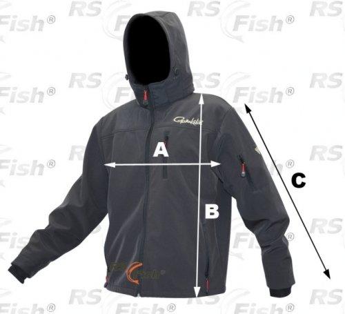 Šedá rybářská bunda ProLogic - velikost M