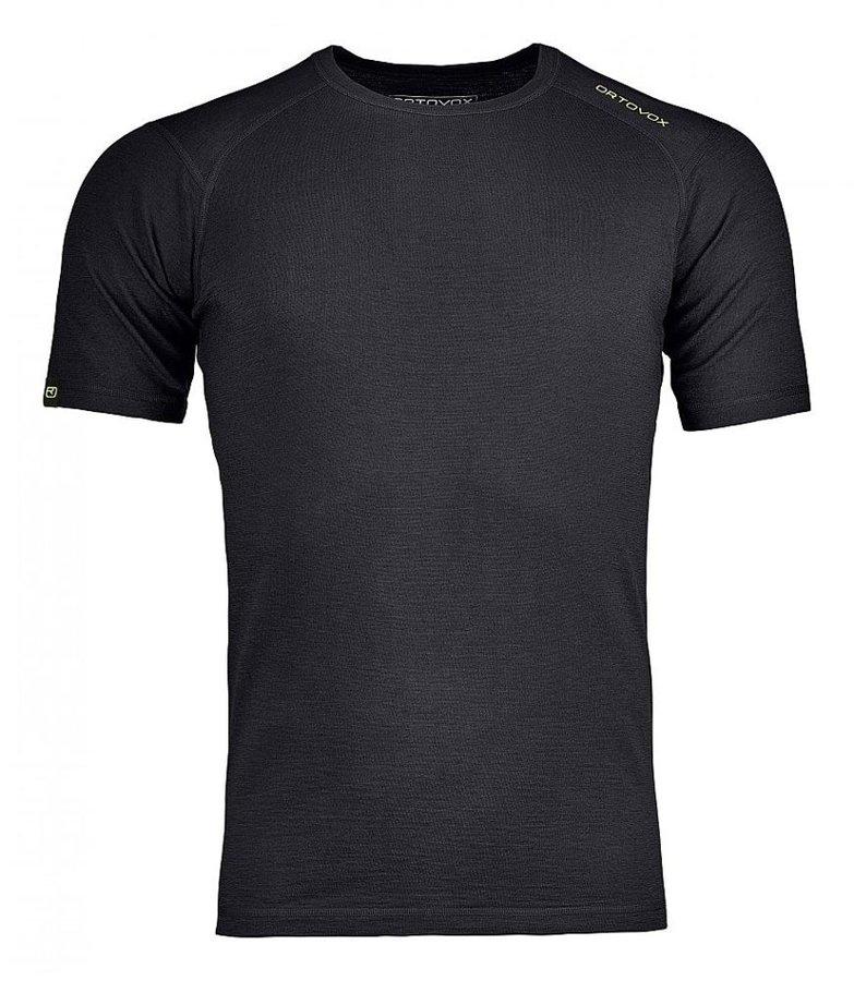 Černé pánské termo tričko s krátkým rukávem Ortovox