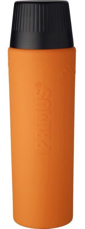 Oranžová termoska na pití Primus - objem 1 l