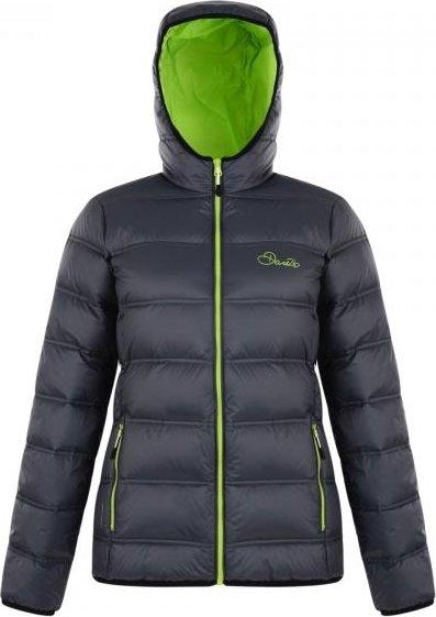 Šedá zimní dámská bunda s kapucí Dare 2b - velikost 38