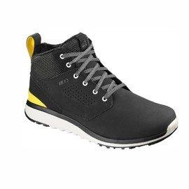 Černé pánské trekové boty - obuv Salomon - velikost 46 EU