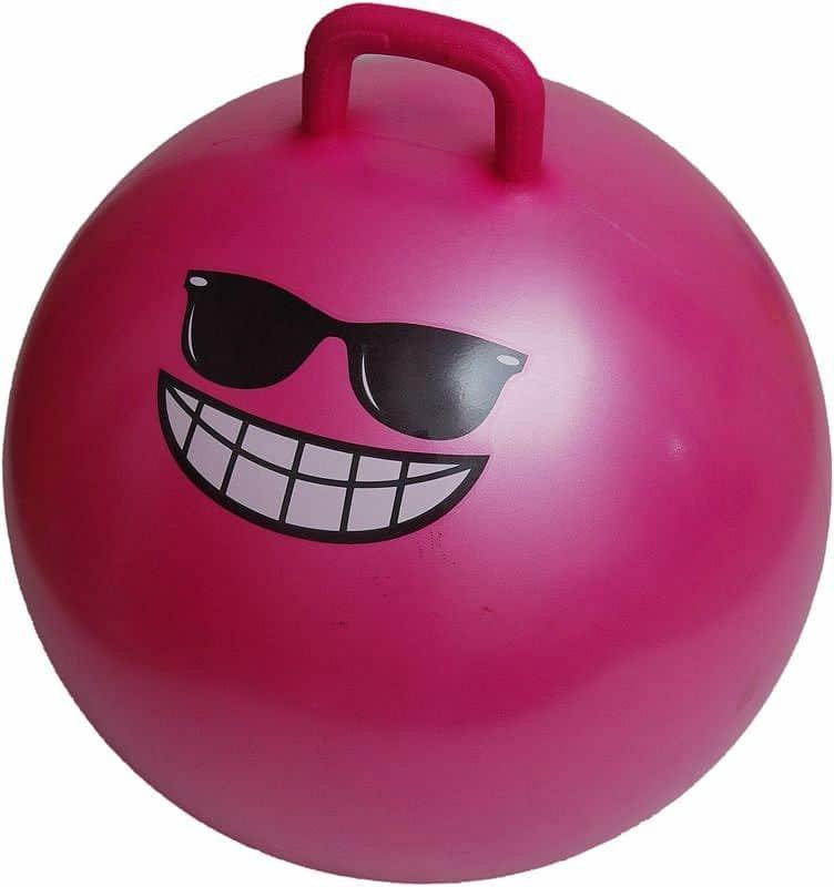 Růžový skákací míč Lifefit - průměr 55  cm