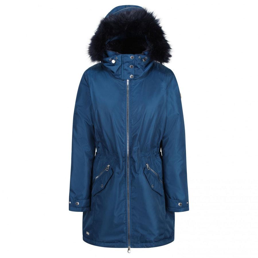 Modrý zimní dámský kabát Regatta