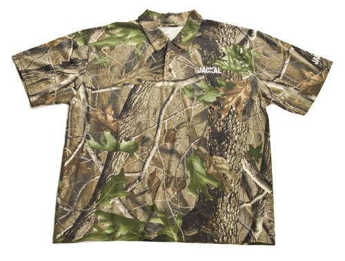 Různobarevné pánské rybářské tričko Jackal, Trakker