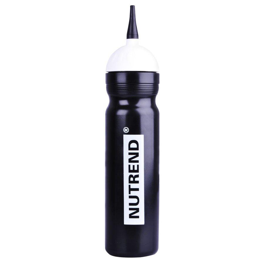 Černá sportovní láhev na pití Bidon 2013, Nutrend - objem 1 l