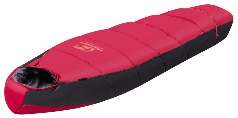 Červený dětský spací pytel Hannah - délka 170 cm