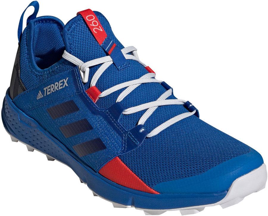 Modré pánské běžecké boty Adidas
