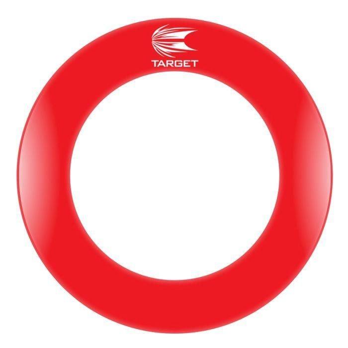 Červený surround Target Darts - průměr 70 cm