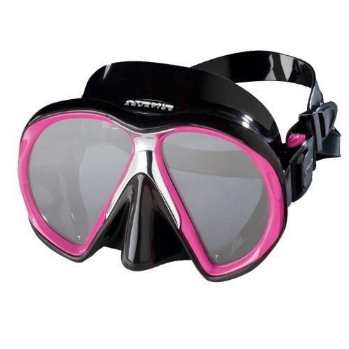 Černo-růžová potápěčská maska Subframe medium, Atomic Aquatics