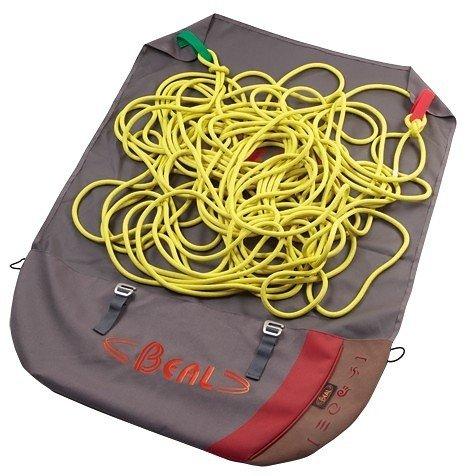 Červený vak na lezecké lano Beal