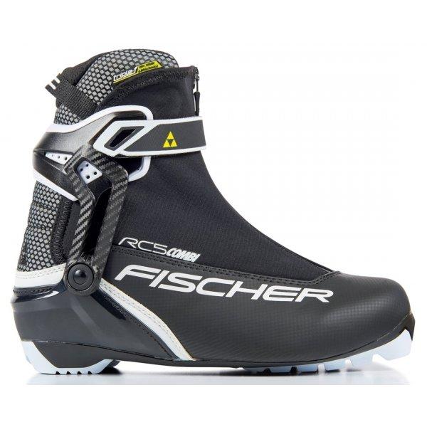 Černé pánské boty na běžky Fischer - velikost 37 EU