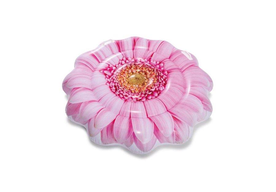Růžové nafukovací lehátko INTEX - délka 142 cm a šířka 142 cm