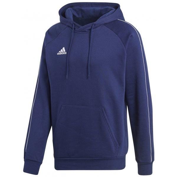Modrá pánská mikina s kapucí Adidas - velikost M