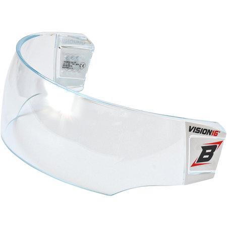 Plexi na hokejovou helmu - Plexi Bosport Vision16 STD B1 čirá (průhledná)