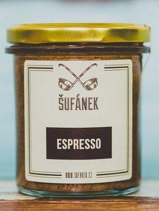 Máslo - Šufánek Espresso máslo 330 g