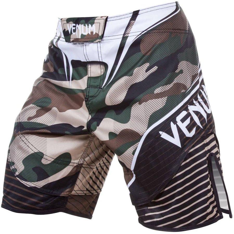Zelené MMA šortky Venum - velikost L