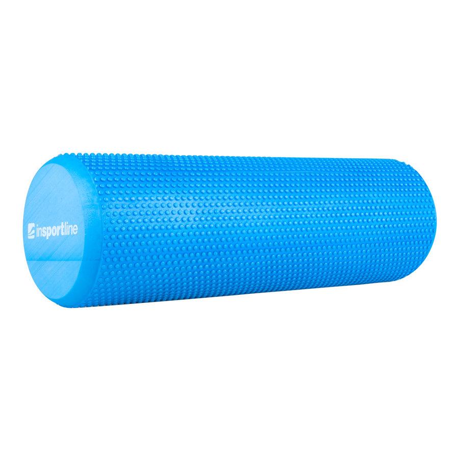 Modrý jóga válec inSPORTline - průměr 15,5 cm