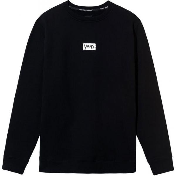 Černá pánská mikina bez kapuce Vans - velikost L