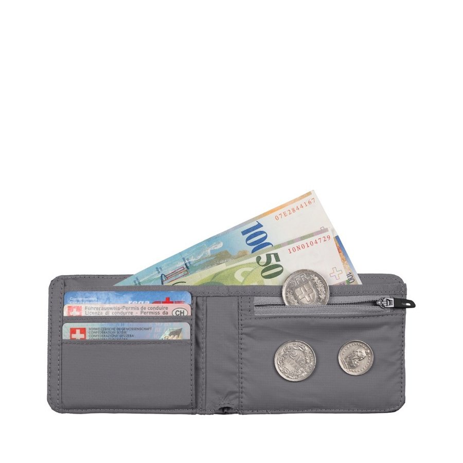 Peněženka - Mammut Flap Wallet Mélange Black