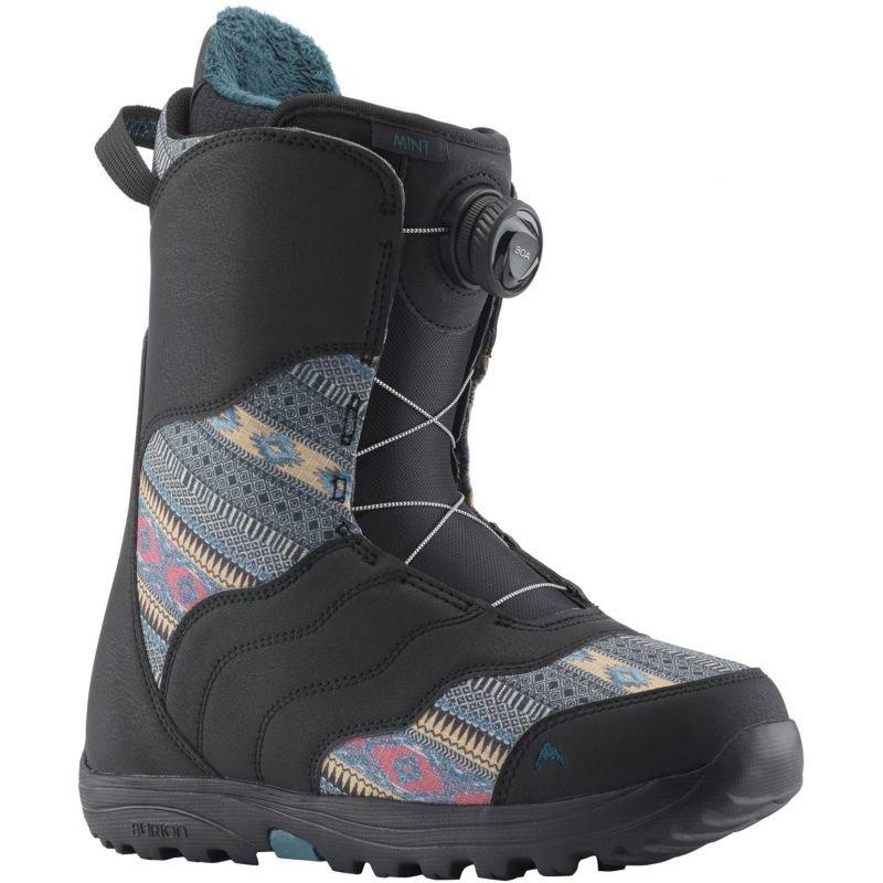 Černé dámské boty na snowboard Burton