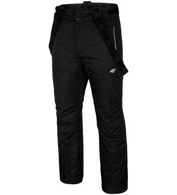Černé pánské lyžařské kalhoty 4F