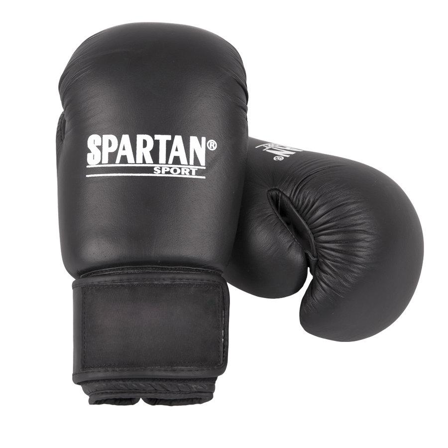 Černé boxerské rukavice Spartan - velikost 12 oz