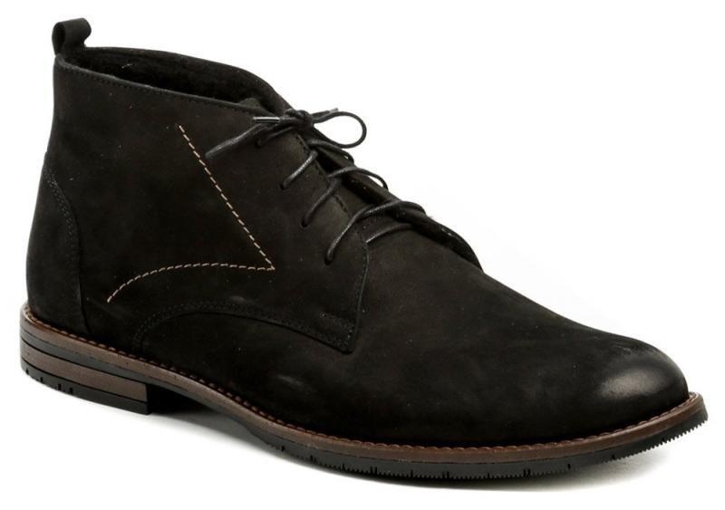 Černé pánské zimní boty Abil - velikost 45 EU