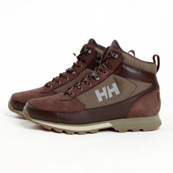 Hnědé pánské zimní boty Helly Hansen