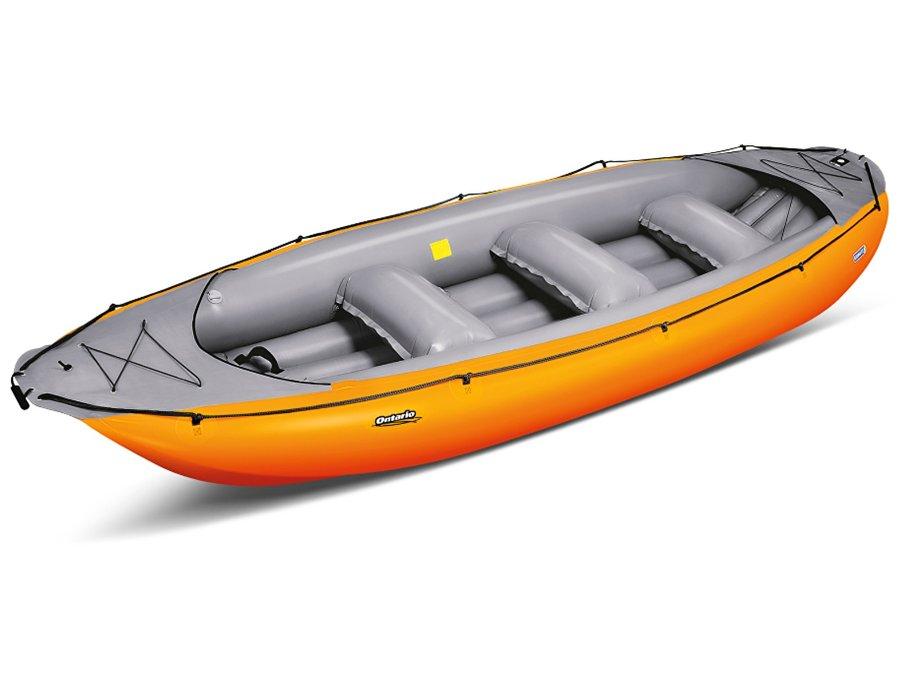 Žlutý člun pro 6 osob Gumotex