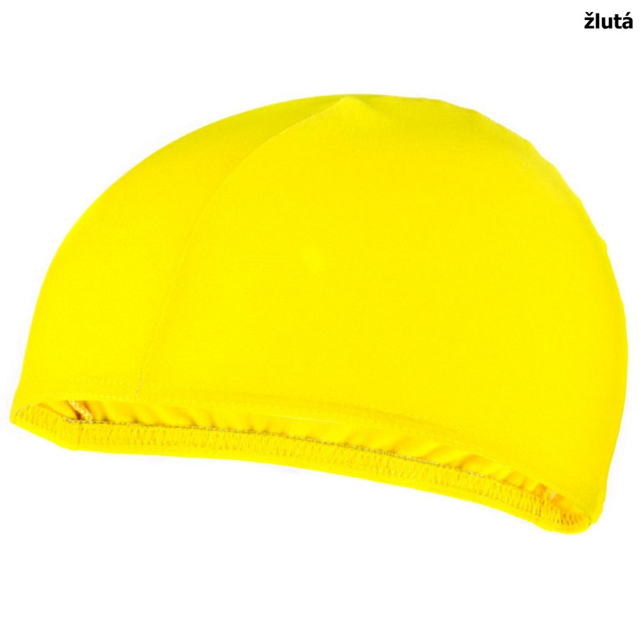 Žlutá dámská nebo pánská plavecká čepice LYCRAS, Spokey