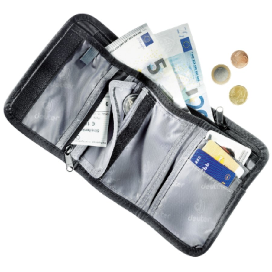 Peněženka - Deuter Travel wallet black peněženka